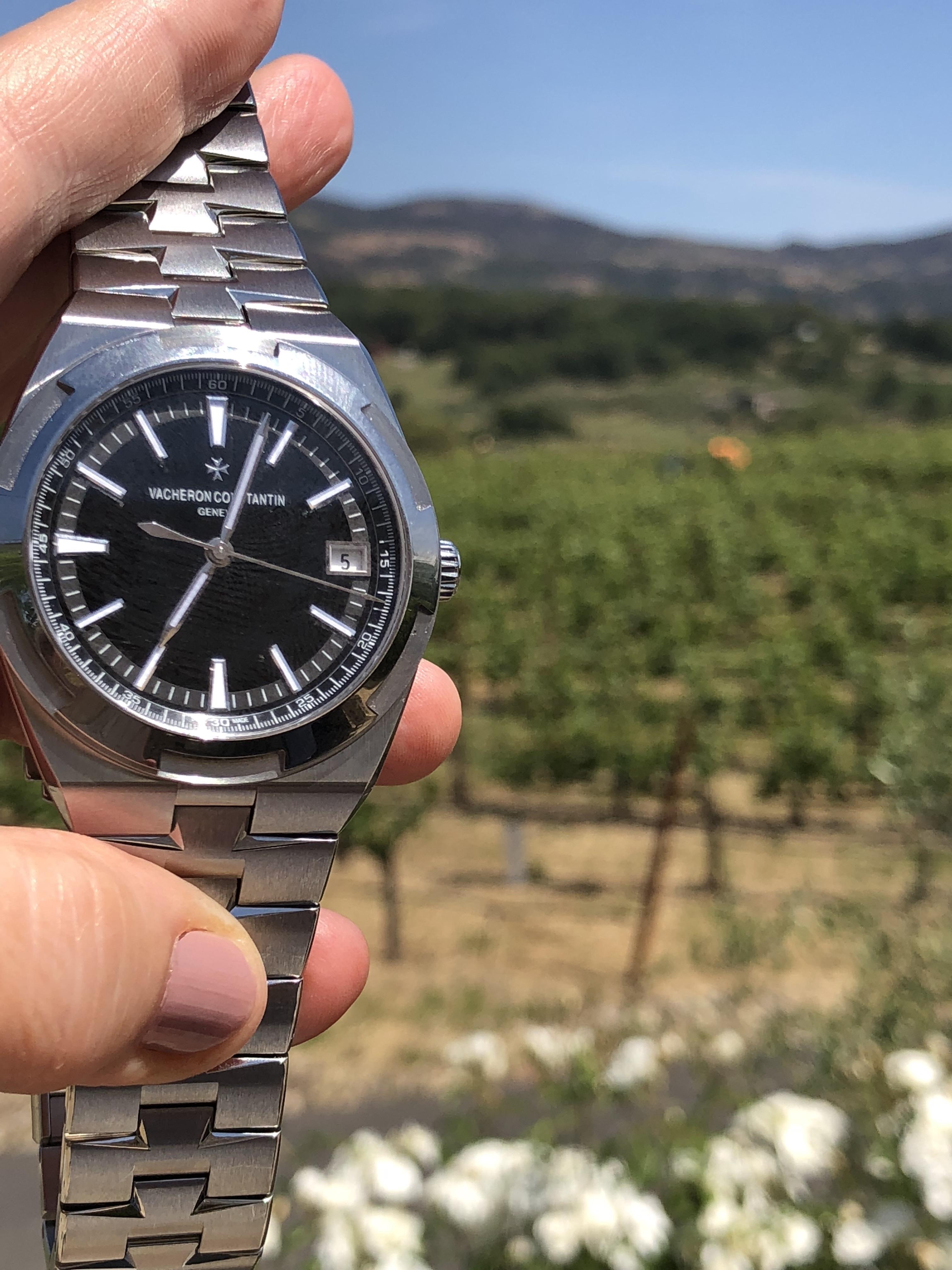 Vacheron Constantin Overseas black dial