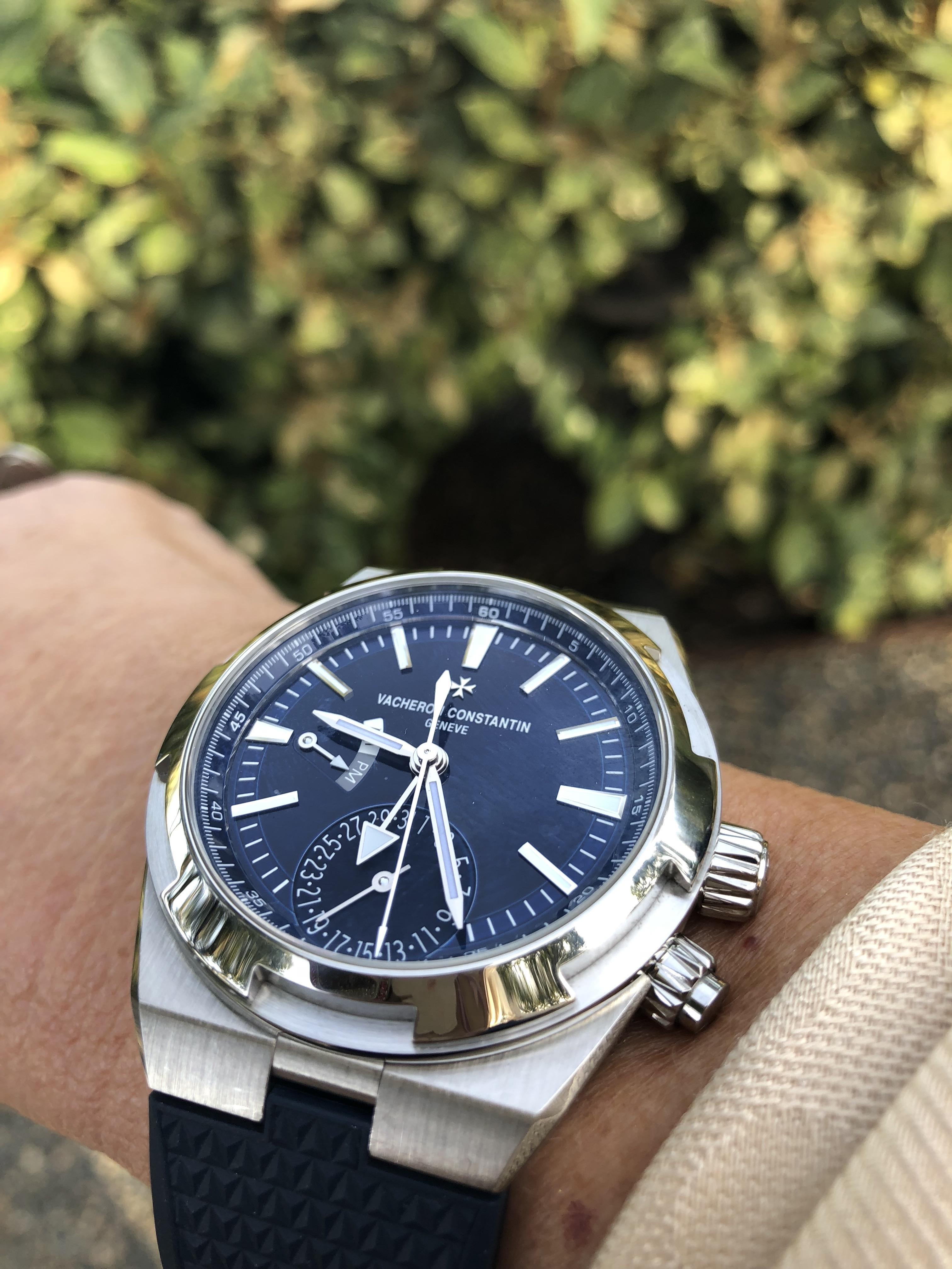 Vacheron Constantin Overseas blue dial - a beauty