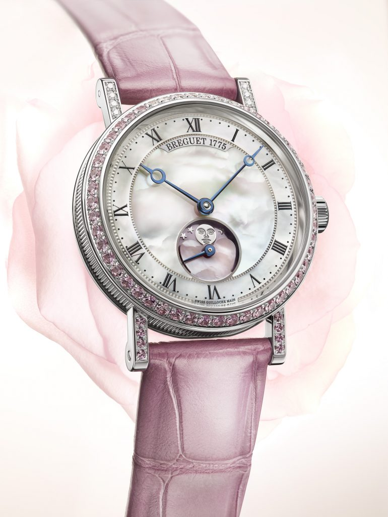 Breguet Classique Phase de Lune Dame Valentines Day watch