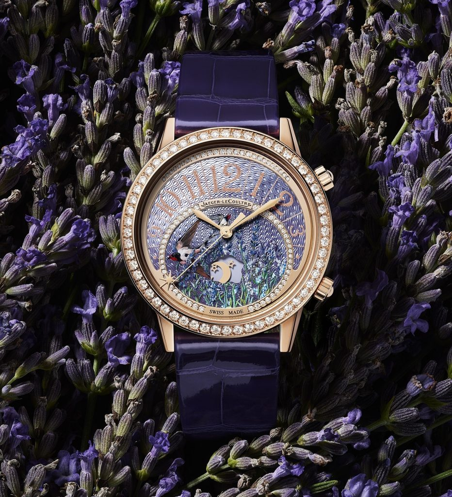 Jaeger-LeCoultre Rendez-Vous Sonatina watch chimes an anticipated time when set.