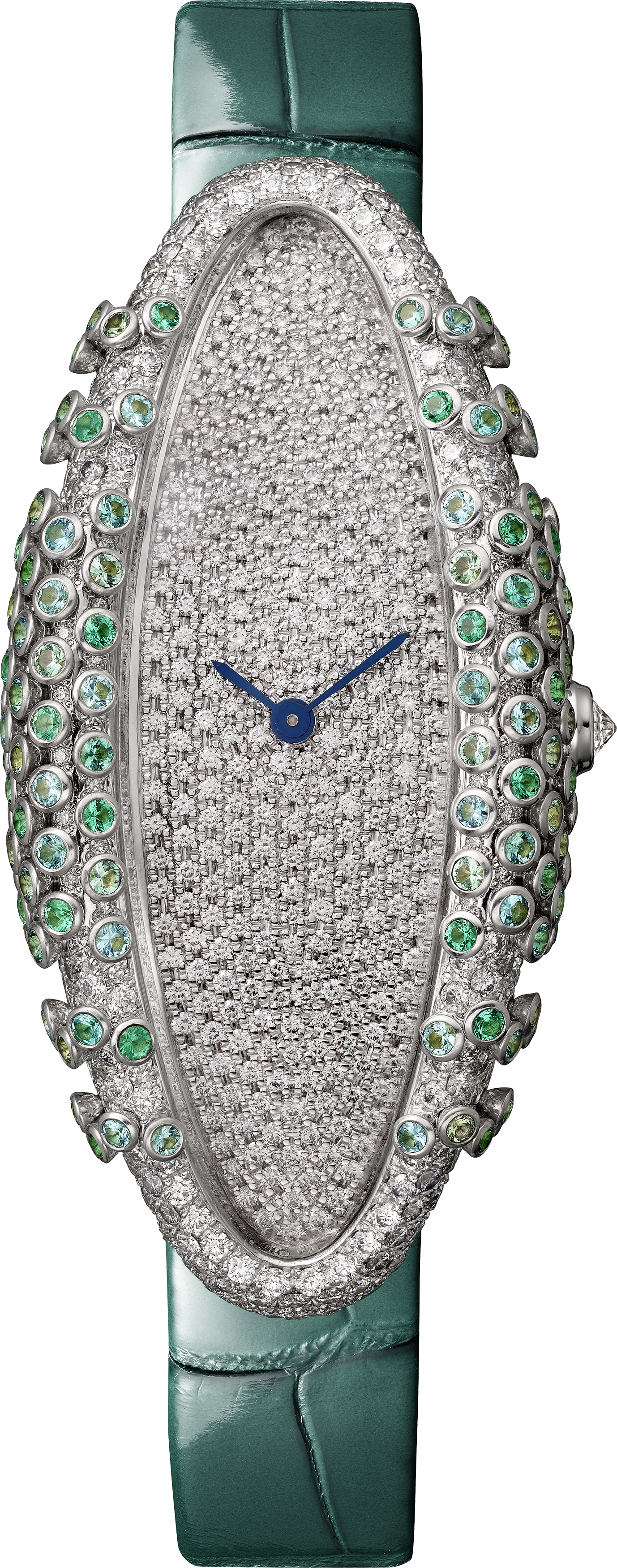 Cartier Libre Baignoire Allongée Celadon watch