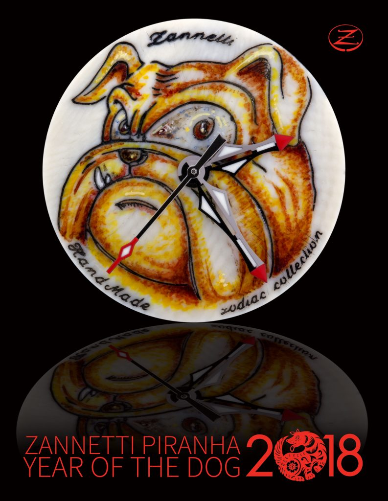 Year of the Dog watch by Zannetti.