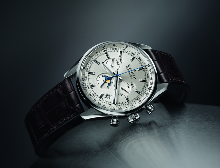 The new Zenith El Primero 410 in 42mm size. Inspired by the iconic vintage piece.