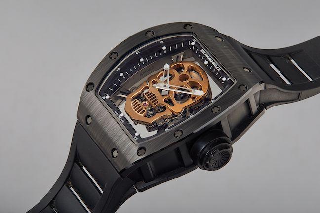 Stallone Richard Mille watch