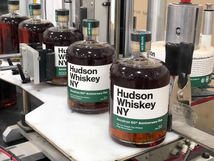 Accutron and Hudson Whiskey