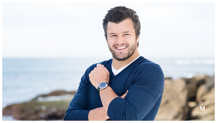 Brand ambassador and Australian rugby star Adam Ashley-Cooper. Photo courtesy of www.meerson.com