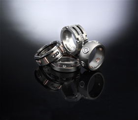Rings for men from Zancan