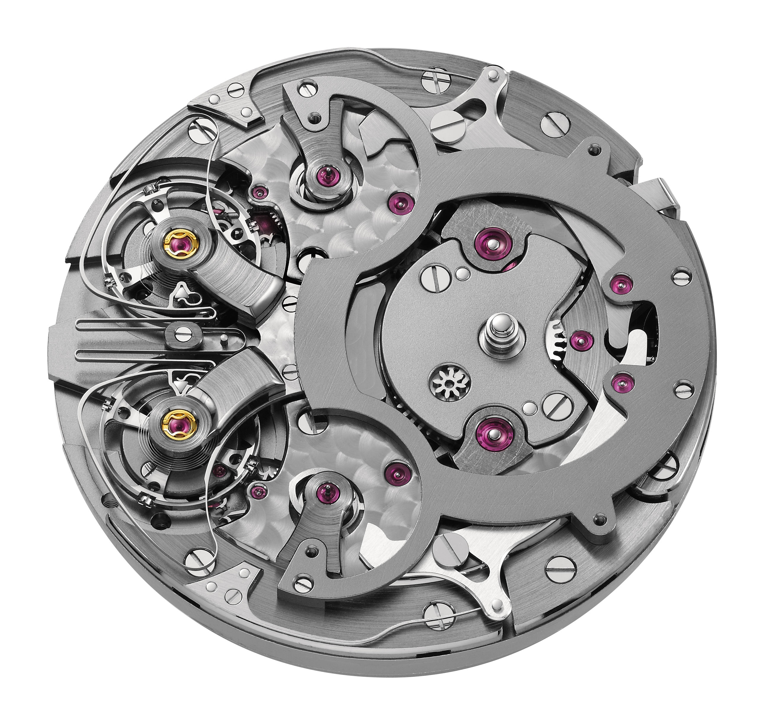 There are 226 parts in the Armin STrom Mirrored Force Resonance caliber ARF 15.