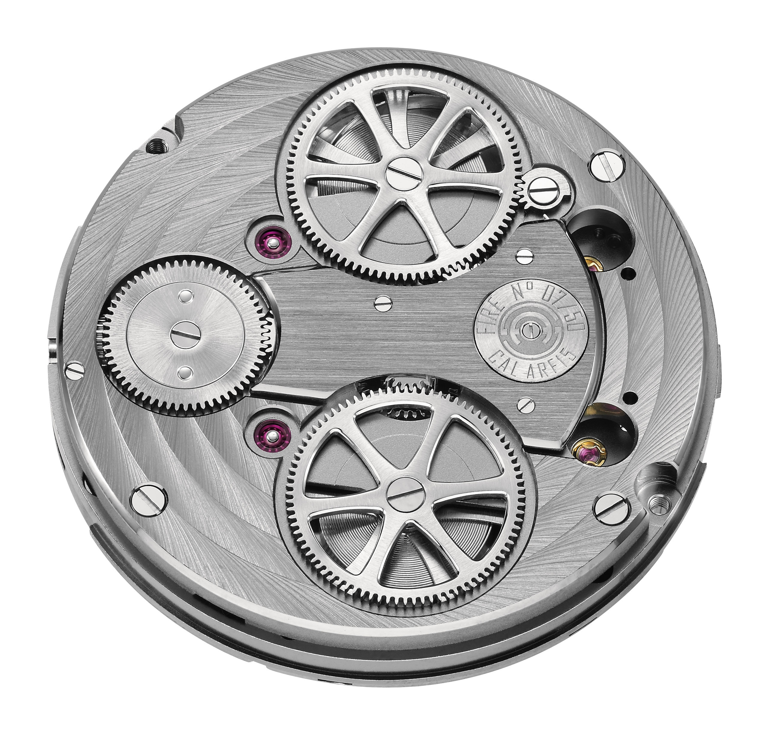 Armin Strom Caliber ARF 15 for the Mirrored Force Resonance Guilloche Dial watch