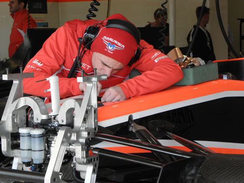 Precision is key with Formula 1 racing.