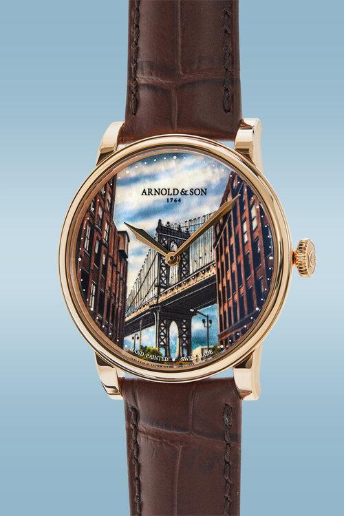 HSNY watch auction, Arnold & Son Manhattan Bridge