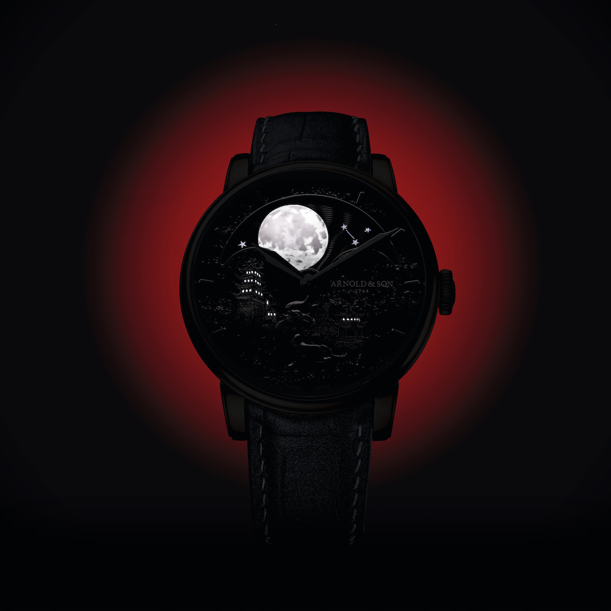 Arnold & Son Perpetual Moon Year of the Ox watch