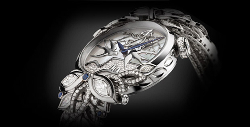 Audemars Piguet reinforces its commitment to women with this new Haute Joaillerie timepiece.