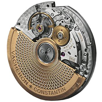 Another beautiful example of an automatic-wind movement, this one from Vacheron Constantin.