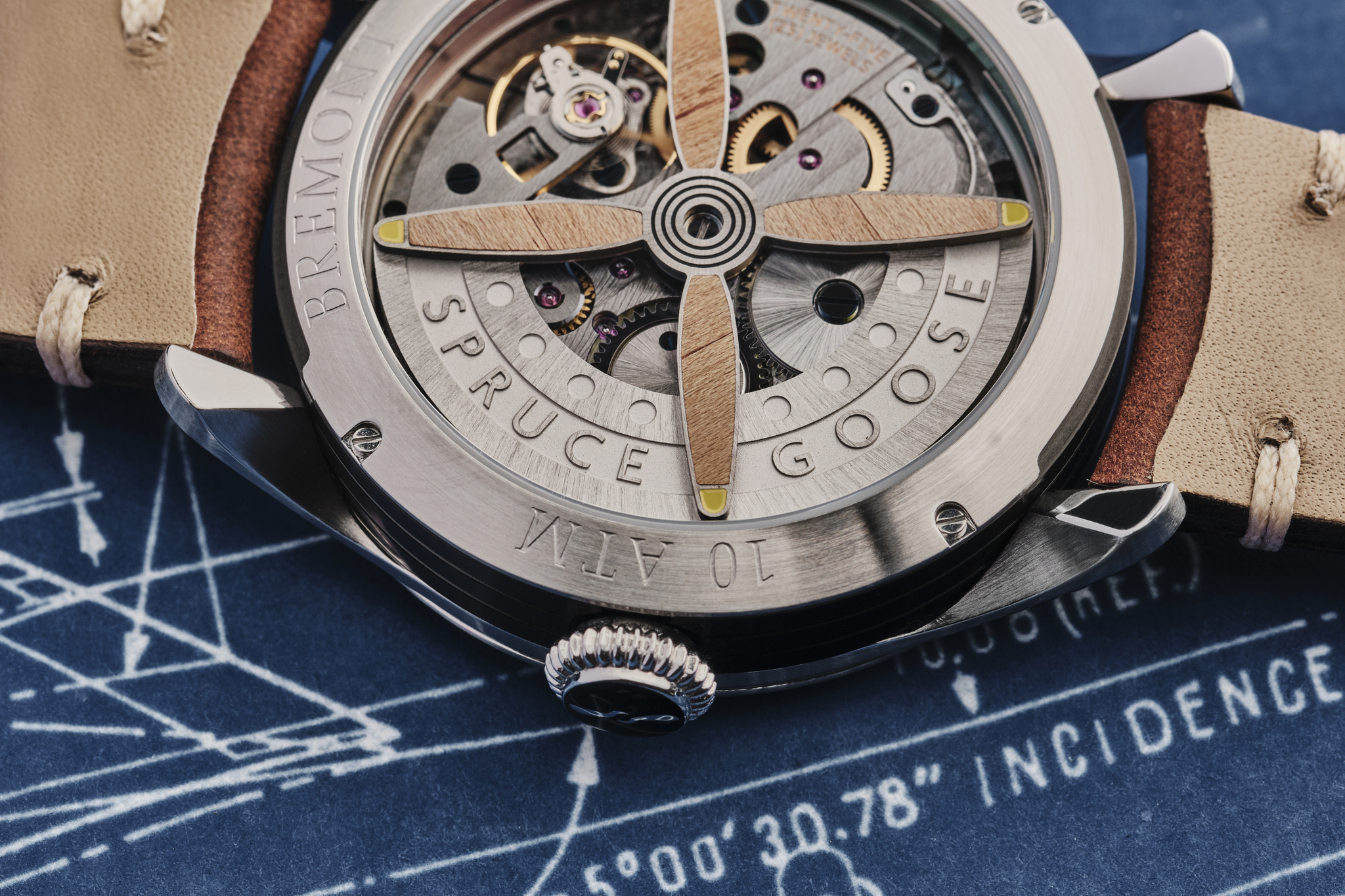 H-4 Hercules watch by Bremont.