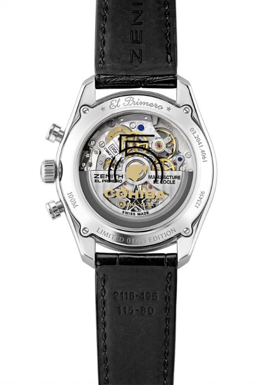 Zenith Chronomaster Cohiba watch
