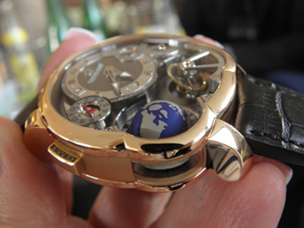 The rose gold Greubel Forsey GMT