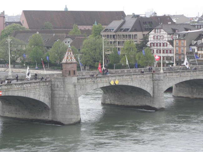Basel is a beautiful midieval city.