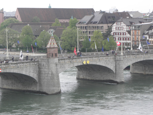Basel itself is a beautiful city of antiquity.