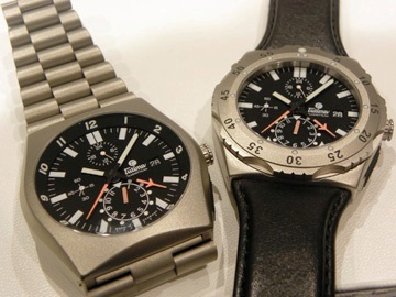The bold and rugged M-2 watchs from Tutima