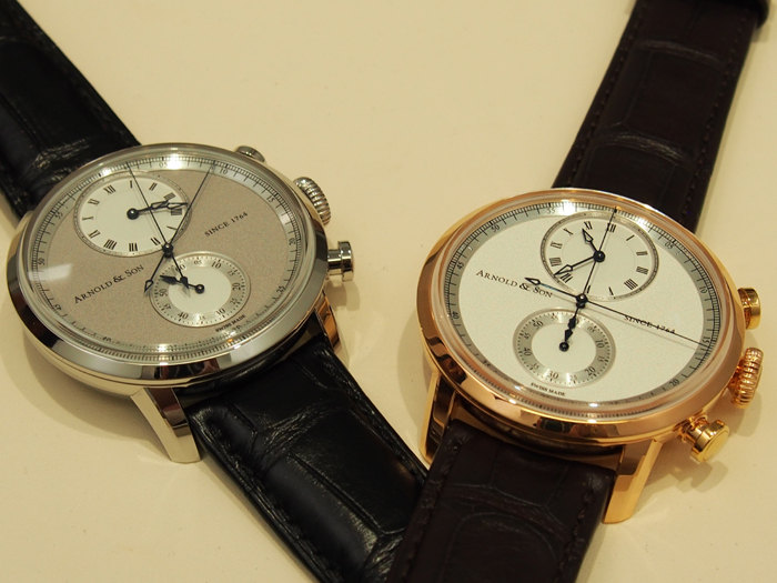 Arnold & Son CTB offered in two versions