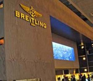 The Breitling booth as we knew it.