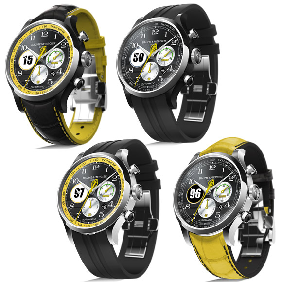 Baume & Mercier Capeland Shelby Cobra Drivers Limited Edition watches