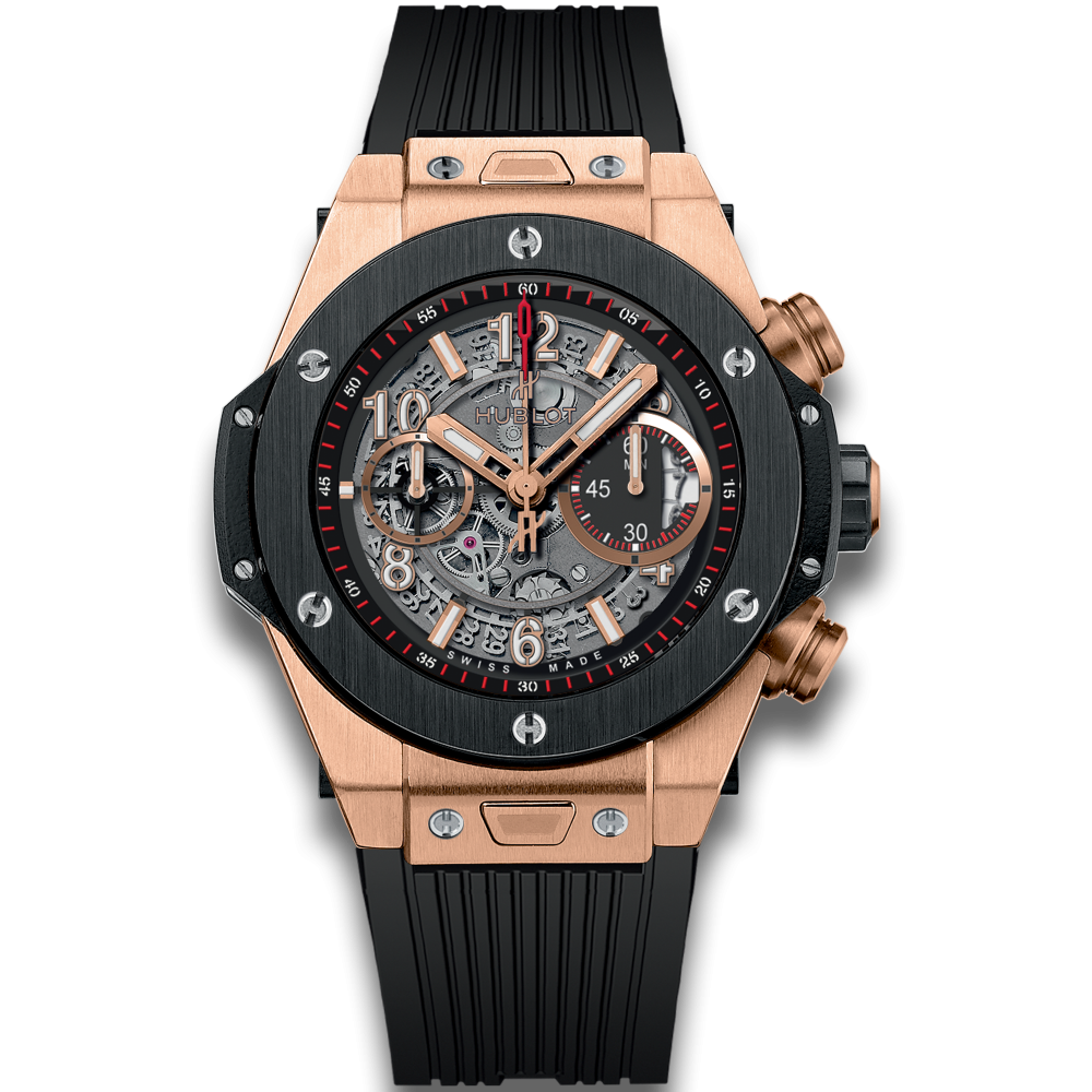 Gold Medal winner for independent golf was Justin Blake, a Hublot brand ambassador who wears a Big Bang Unico.