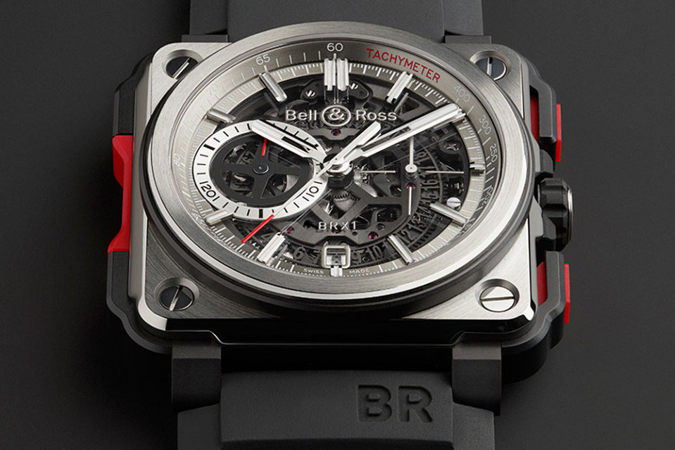 Bell & Ross BR-X1 Skeleton Chronograph is a daring new rendition of the coveted BR-01