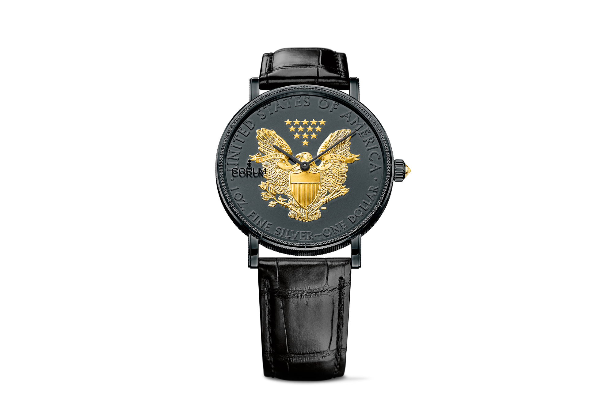 Corum Heritage Coin watch
