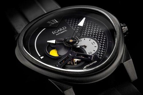 The Passages watch is offered in steel, and in black, gunmetal and rose gold IP.