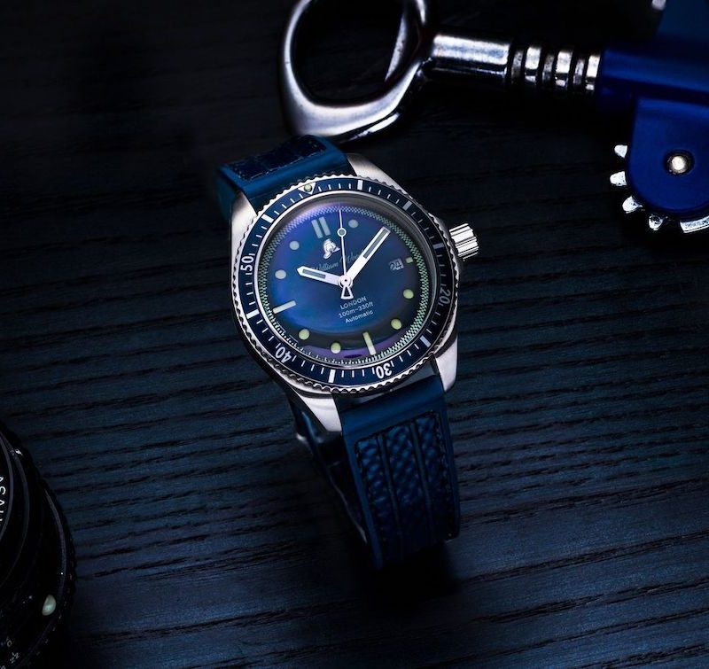 William Wood Valiant Blue Watch