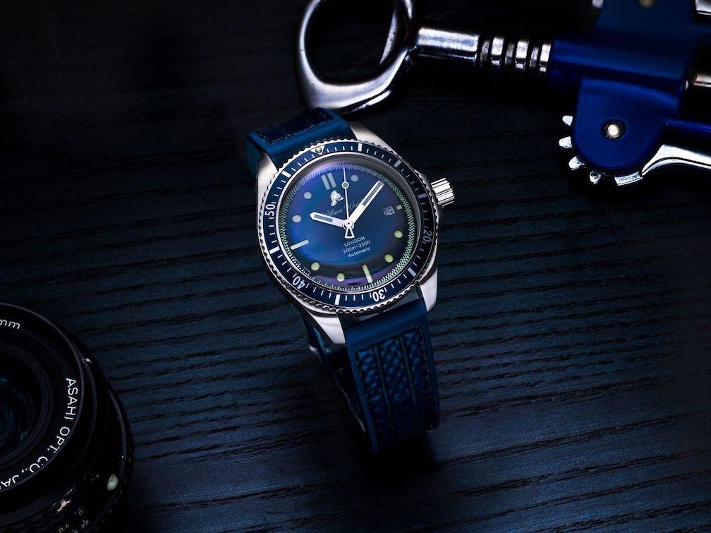 William Wood Valiant Blue Watch