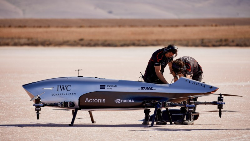 IWC partners with Airspeeders