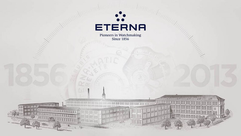 Eterna Manufacture in Switzerland. Today the brand is owned by Citychamp Watches & Jewellery