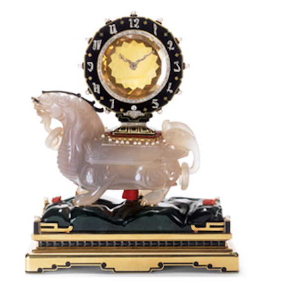Cartier Chimera Clock