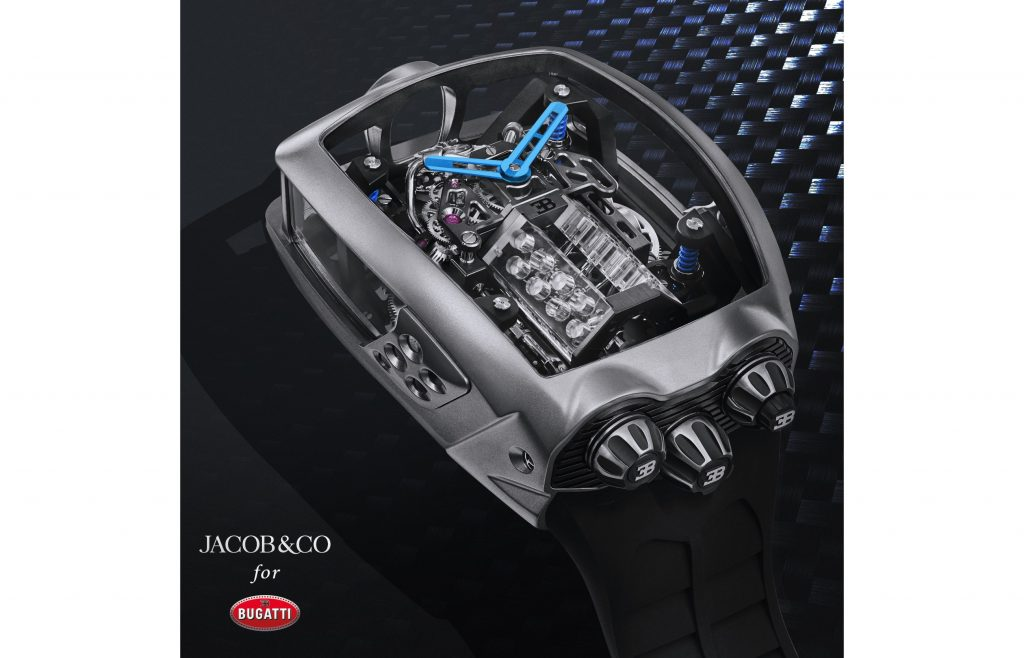 Jacob & Co. Unveils $280,000 Bugatti Chiron Tourbillon