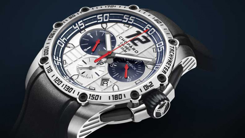 Chopard Superfast Chrono Porsche 919 Jacky Ickx watch.