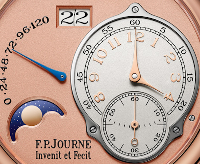 The dial layout is incredibly harmonious and elegant.