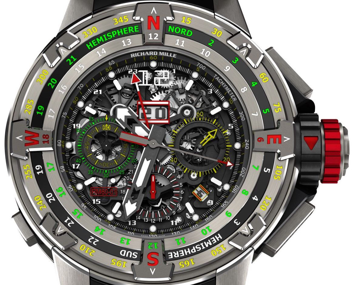 Richard Mille RM 60-01 Flyback Chronograph Regatta Watch