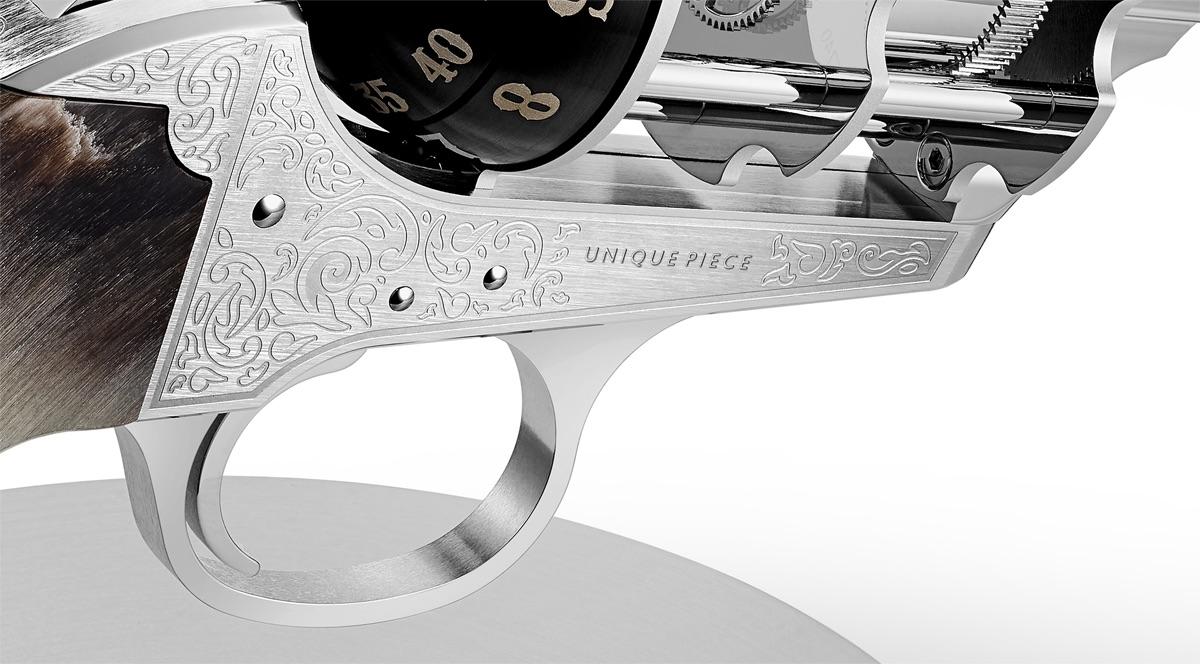 The Unnamed Society Revolver Clocks
