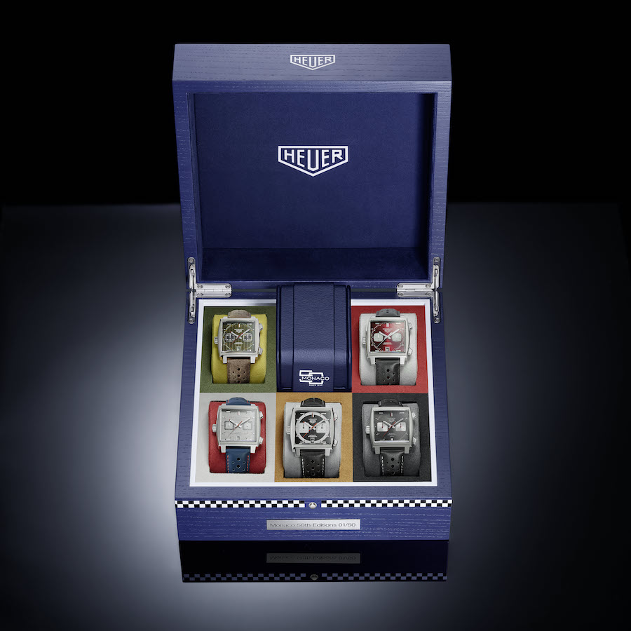 TAG Heuer Monaco 2009-2010 Limited Edition watch.