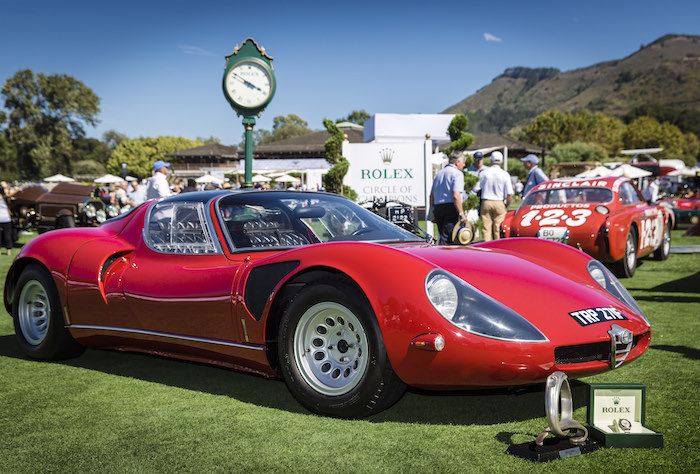 "Winner of the Rolex Circle of Champions ""Best of Show"" Award - Post-War Sports 1961-1992, 1968, Alfa Romeo, Tipo 33 Stradale, Red"