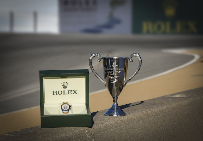 Rolex Timepiece and Trophy awarded to the winner of each class