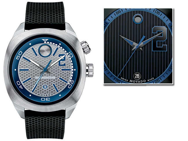 Movado Captain's Watch made to celebrate Jeter's retirement.