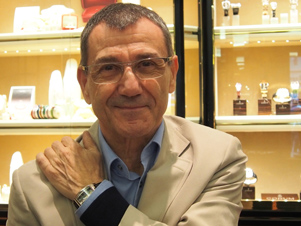 Vincent Calabrese at Wempe New York recently with Corum.