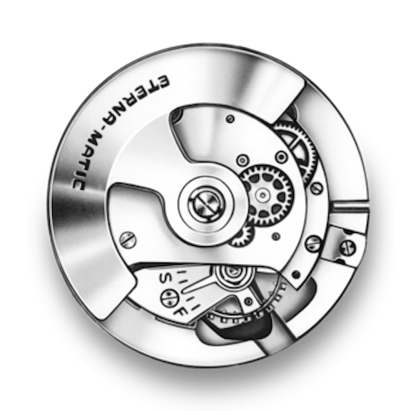 The Eterna Eterna-Matic movement was unveiled in 1948 and was revolutionary at the time.