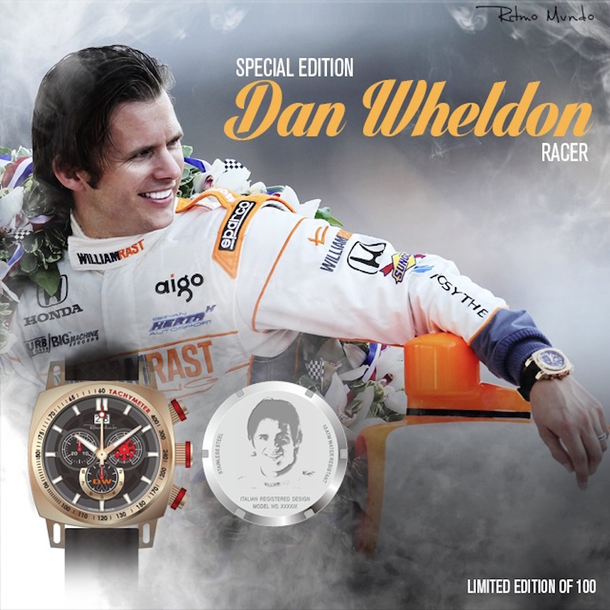 15% of all sales go to the Dan Wheldon Foundation