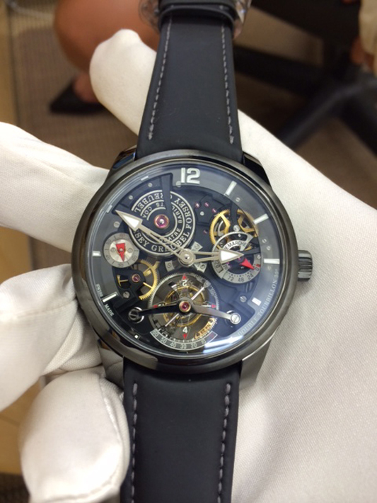 Double Tourbillon 30 in DLC