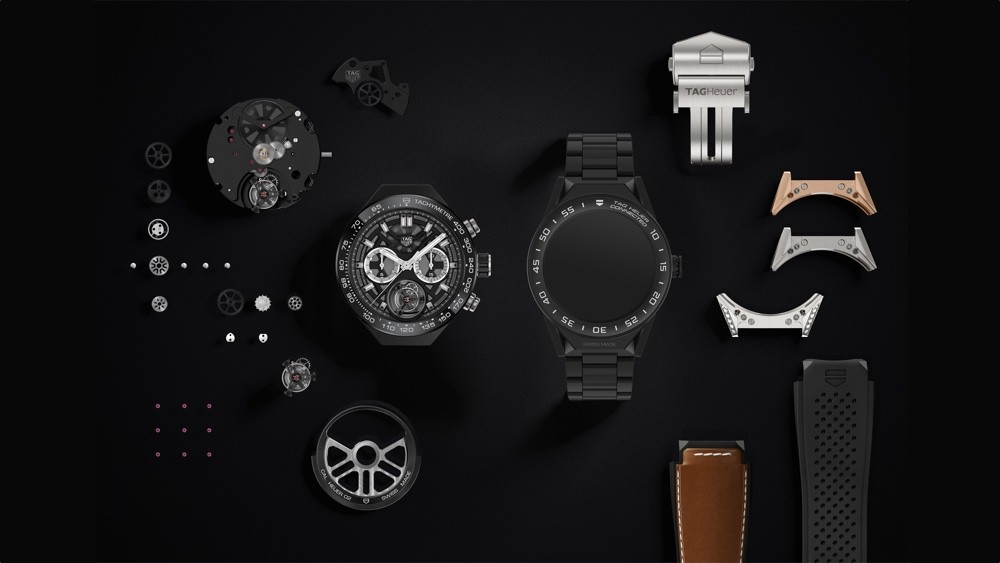 The new TAG Heuer Connected Modular 45mm smart watch is totally customizable.